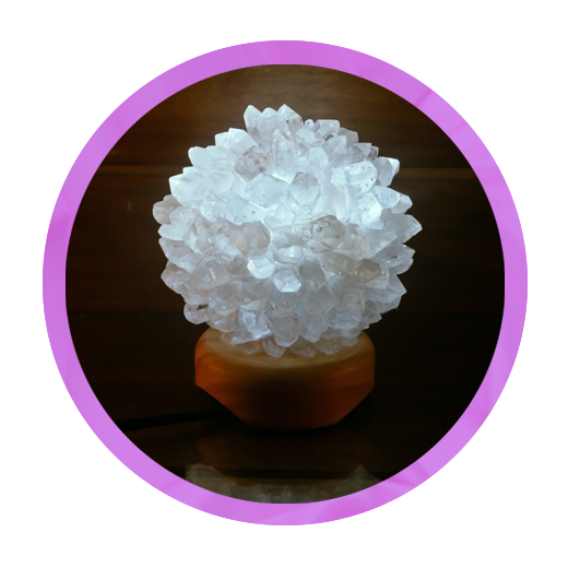 luminaria cristal